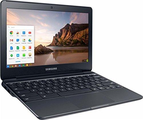 Samsung Chromebook 3 11.6-inch HD Laptop (Intel Core Celeron N3060/4GB/32GB eMMC/Chrome OS), Black image