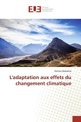 L'adaptation aux effets du changement climatique
