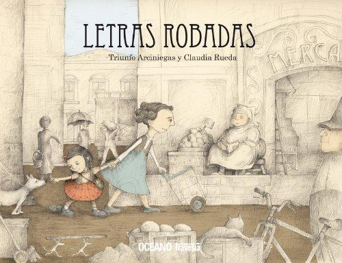 Letras Robadas (Álbumes) por Claudia Rueda