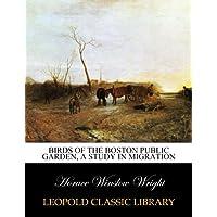Birds of the Boston Public garden, a