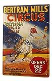 Plaque Émaillée Cracheurs de feu Cheval de cirque affiche Publicité Signes En Métal 20X30 cm