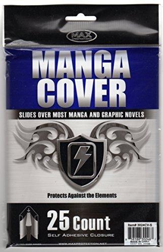 Sachets de 25 Couvertures 10 en 1 - Mangas Grande