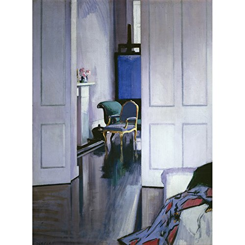 Interior, 6 Ainslie Place, Francis Campbell Boileau Cadell - Medici Drucken Francis Place