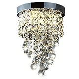 Delle Made cristallo lampadario moderno plafoniera per scale, cucina, sala da pranzo, camera dei bambini,3luce, LED Lampade incluse