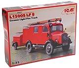 ICM 35527 - 1/35 Mercedes L1500S LF8 Feuerwehr
