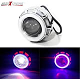 AllExtreme LED Angel's Eye Ring Projector Lamp (Red and White)