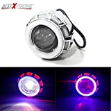 #6: AllExtreme LED Angel's Eye Ring Projector Lamp (Red and White)