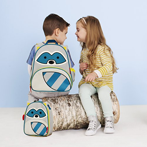 Skip Hop SKI-ZOO-LCH-GIRAF Kindergartentasche, Motiv Giraffe Waschbär