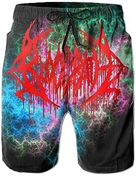 TRUNKS PLIUYTZ Bloodbath Peaceville Performance Beach Pants Man'S Swimming Short Fleece Sweatpantssummer