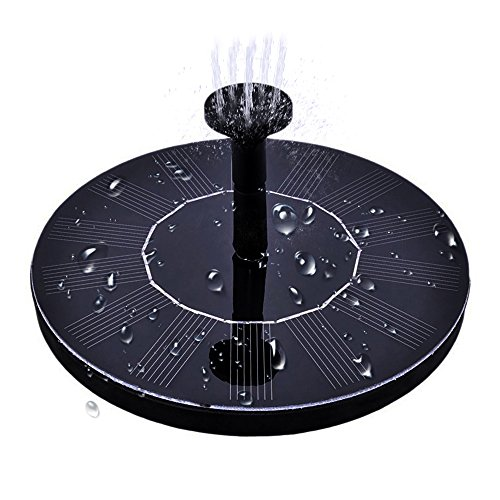 Especificaciones y características: El poder de la batería solar: 7V, 1.4W El tamaño de la energía del panel solar: F160mm * 25m m El poder de la bomba: 7V, 1.1W Cantidad máxima de flujo de la bomba: 160L / h Vida máxima de la bomba: 100cm Altura máx...