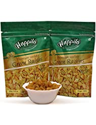 Happilo Premium Seedless Raisins, 250g (Pack of 2)