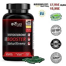 Testosterona Natural-Aumenta Nivel Testosterona-Fenogreco Ginseng Maca Taurina Zinc. Rendimiento Muscular-