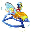 #9: Magicwand Newborn To Toddler Portable Baby Rocker (63500 Blue)