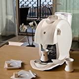 Expresso • Machine à café MALONGO • Oh Matic Blanc Nacré • ICE PEARL • Cafetière • Expresso