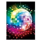 AEC - EM884 - Déguisement - Nappe en Plastique Disco Fever - 137 cm x 260 cm