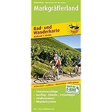 Markgräflerland: Rad- und Wanderkarte mit Ausflugszielen, Einkehr- & Freizeittipps, wetterfest, reißfest, abwischbar, GPS-genau. 1:50000 (Rad- und Wanderkarte / RuWK)