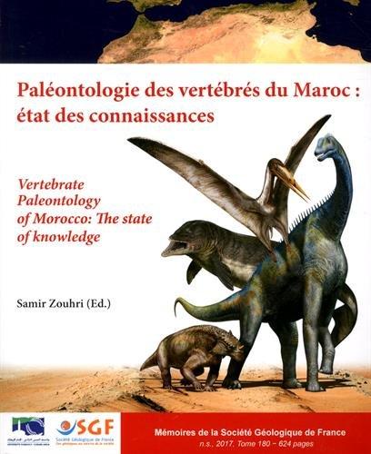 Palontologie des vertbrs du Maroc : tat des connaissances