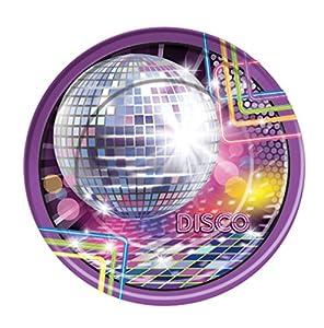 Forum Novelties X77972 - Platos grandes de discoteca, multicolor, talla única