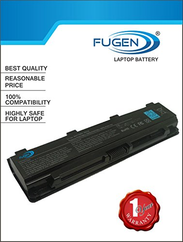 Fugen 6 Cell Laptop Battery for Toshiba C40, C45, C50,...