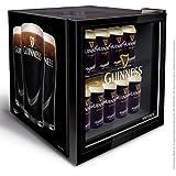 Husky HUS-HY205 Guinness Design Mini Fridge/Drinks Cooler, Black
