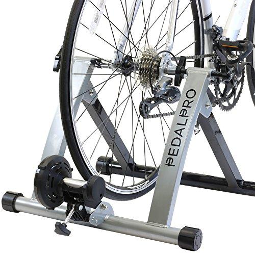 PedalPro - Rullo turbo trainer per bicicletta - trasforma la bici in una cyclette per il fitness