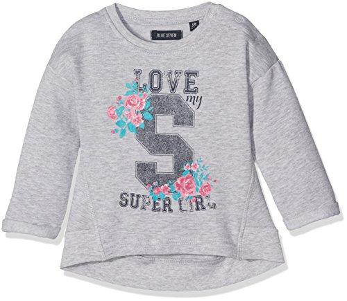 Blue Seven Baby-Mädchen Sweatshirt 957012 X, Blau (Nebel Orig 920), 74