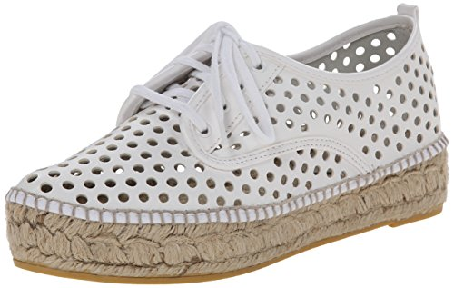 Price comparison product image Loeffler Randall Women's Alfie Fashion Sneaker, White, 7 M US
