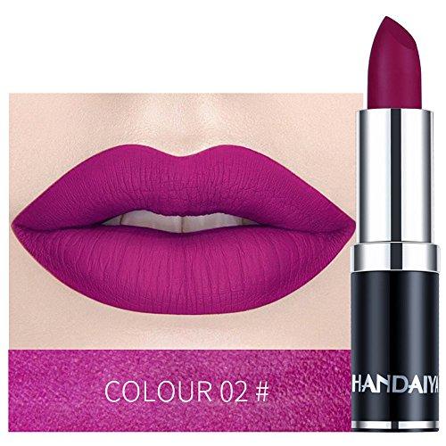 PNING Wasserdichter Lippenstift-Mattkürbis-Farblippenstift Moisture Extreme Lippenstift verleiht intensive Farbe und extreme Feuchtigkeit, für gepflegte und sinnlich glatte Lippen