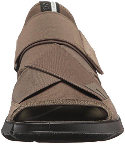 Ecco Ecco Intrinsic Sandal, Sandales  Bout ouvert homme Vert (55894Tarmac/Tarmac)
