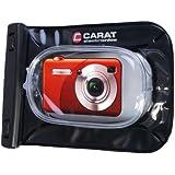 Carat - Étui étanche / d'extérieur pour appareil photo numérique - Compatible Canon Canon PowerShot SX240HS, SX260HS, Casio Exilim EX-ZR20, ZR200, Fuji Finepix F660EXR, T350, T400, Nikon Coolpix P310, S6300, Olympus SH-21, VR-340, VR-360, Panasonic Lumix DMC-TZ25, TZ31, Sony DSC-H90, HX10V, etc. (Import Allemagne)