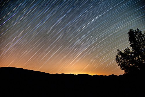 140421-60-71-stars-and-comets-matted-photograph-handmade-original-fine-art-by-p-matanski-for-home-of