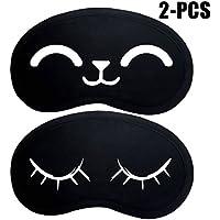 Schlaf Augenmaske, Fascigirl 2 Stück Schlafender Augenschutz Atmungsaktive Schlafmaske Aus Baumwolle preisvergleich bei billige-tabletten.eu