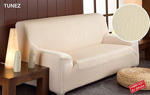 Decoracion Nouveau Estilo- Housse de canapé Tunez en Tissu élastique, Taille 1 Place, de 70 à 110, Couleur Vert (différentes Tailles et Couleurs) Duo (3+2)
