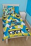 Spongebob Squarepants Happy Single Rotary Duvet Set