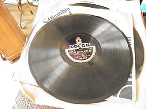 Jan Kiepura - orchestre Dr Weissmann: la chanson d'une nuit (du film du même titre)- La Danza - disque odéon n°166.567