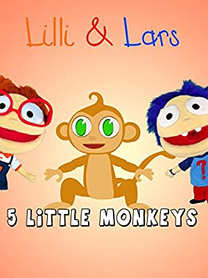 Five little monkeys jumping on the bed lyrics - famous children songs english