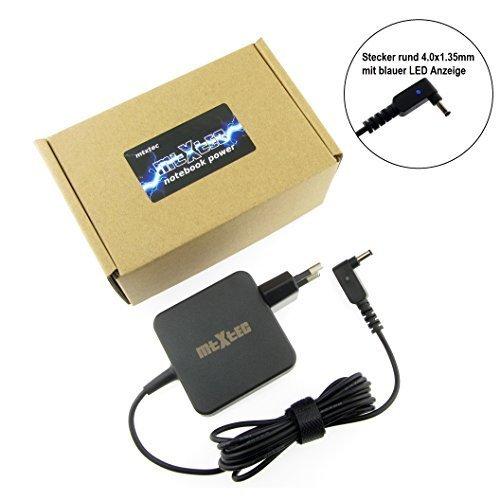 Netzteil, 19V, 2.37A, Stecker rund 4.0x1.35mm (45W - EU) hochwertiger MTXtec Ersatz für Asus ADP-45AW passend im Asus Zenbook UX31A Serie und Ultrabook Zenbook UX21A UX32A UX32VD UX42A UX52A UX310UA