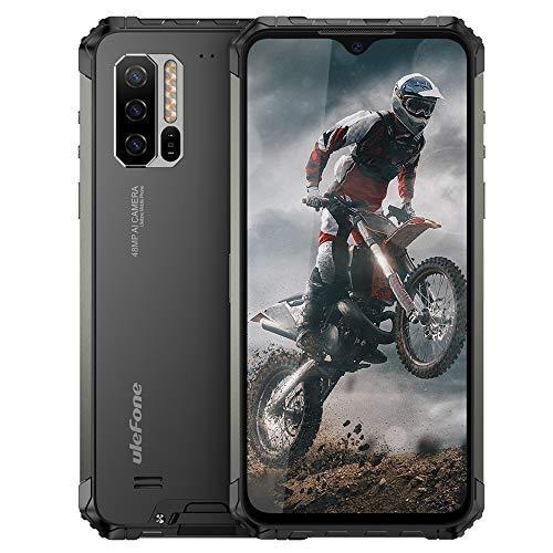 Ulefone Armor 7 Rugged Smartphone - Helio P90 Octa Core 8 GB RAM + 128 GB ROM, Fotocamera da 48 MP, FHD + Schermo 6.3'', Android 9.0 IP68 Telefono Cellulari Resistente, Ricarica Wireless Qi 10W, NFC