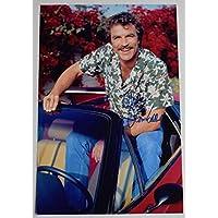 Sportagraphs Tom Selleck SIGNED 12x8 Photo Autograph TV Magnum PI Hawaii 5-0 AFTAL COA