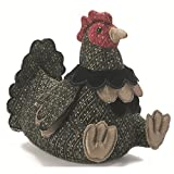 Cock-A-Doodle-Do! For all of you Chicken Lovers! Mrs Cockolarum is very pretty with all her brightly coloured feathers and she'll be proud to serve you as a most attractive doorstop. She's a lovely unique gift for the country home and for all...