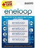 Sanyo Eneloop 4 Piles Eneloop HR-4UTGA Type AA (2000 mAh)