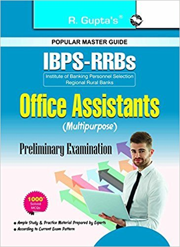 IBPS-RRBs : Office Assistant (Multipurpose) Preliminary Exam Guide