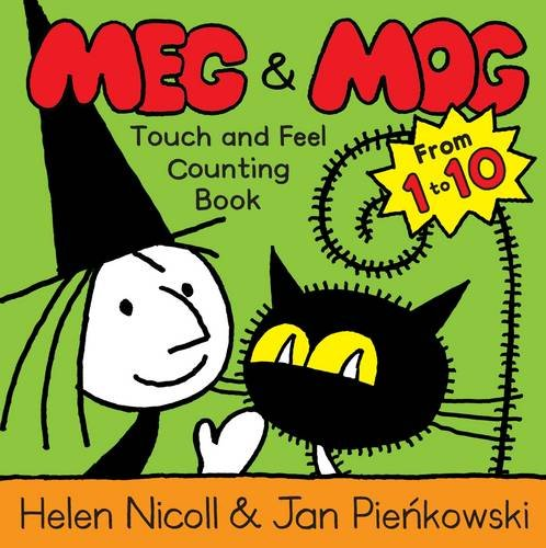 Meg & Mog touch and feel counting book