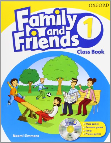 Family & Friends 1: Class Book and Multi-ROM Pack (Family & Friends First Edition)
