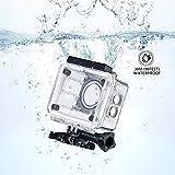 Actioncam Unterwassergehäuse,Vtin bis zu 98ft 30 m Unterwasser Gehäuse Wasserfestes Gehäuse Schutztasche Schutzhülle Kamera Zubehör für SJ4000 und SJ4000 WIFI Kamera-Action-Kamera - 3