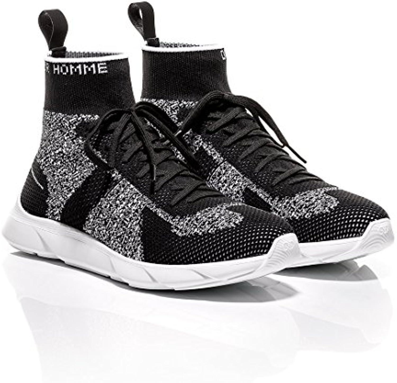Christian Dior Herren Sneaker Weiß Schwarz  Billig und erschwinglich Im Verkauf