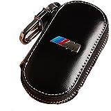 Funda de llave de cuero, con diseño de BMW serie M