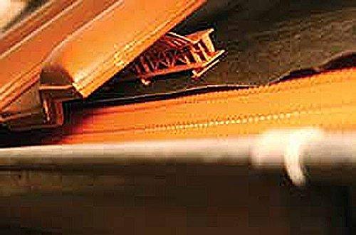 Traufenlüftungselement mit Kamm Traufkamm Traufenlüftungskamm Vogelschutz, Anzahl:20