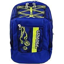 Seven Colorful Boy Zaino Freetime per Scuola e Tempo Libero Blu 9dc4a56defb3
