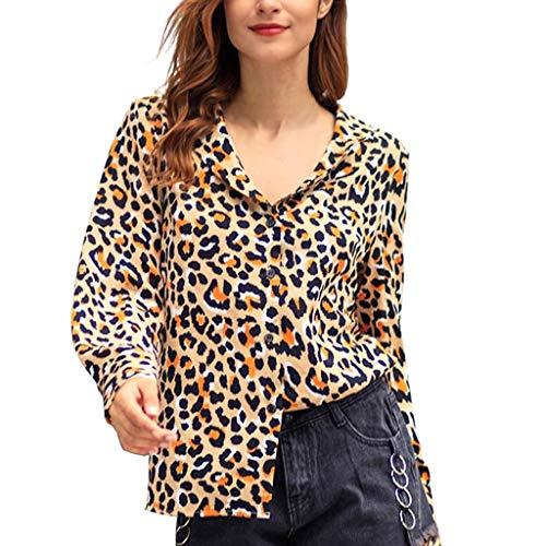 comprar online venta outlet talla 40 Luckycat Camisetas Manga Larga Mujer Tops Elegante Blusa ...